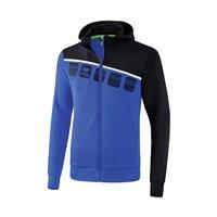 ERIMA 5-C Trainingsjacke mit Kapuze Erwachsene